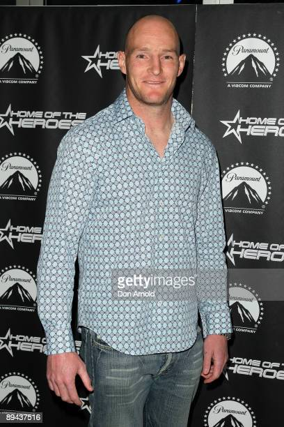 Stirling Mortlock arrives for the Paramount Home Entertainment Q4 launch at the Overseas Passenger Terminal on July 29, 2009 in Sydney, Australia.