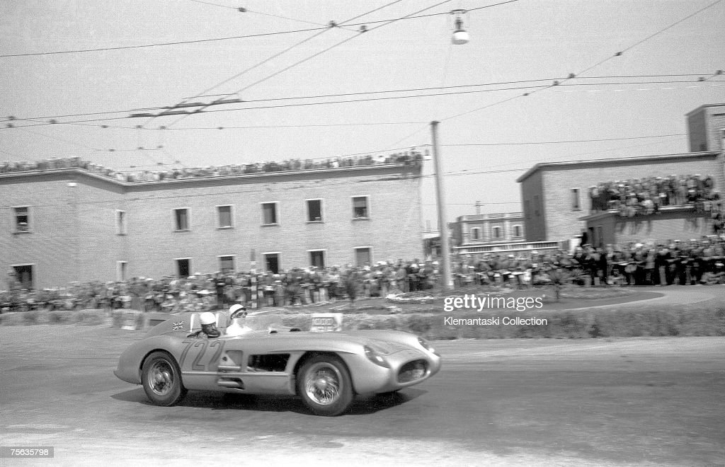 Moss At Mille Miglia : News Photo