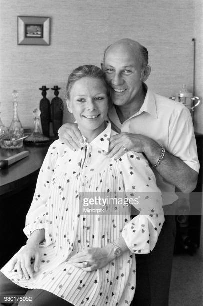 Stirling Moss and his wife Susie 22nd May 1980
