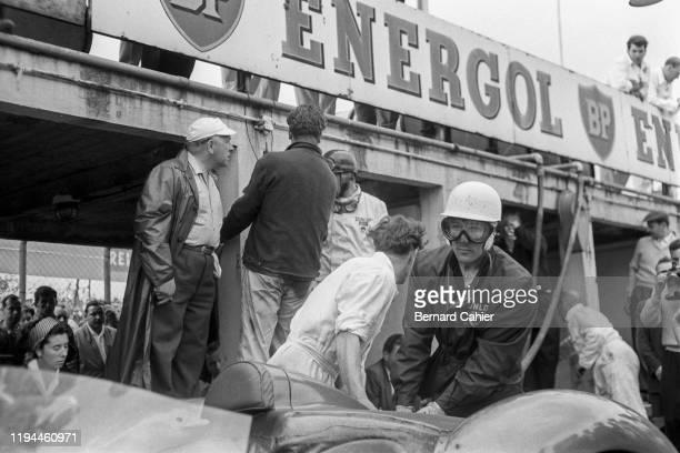 Stirling Moss, Aston Martin DBR1/300, Nürburgring 1000 Kilometres, Nurburgring Nordschleife, 07 June 1959.
