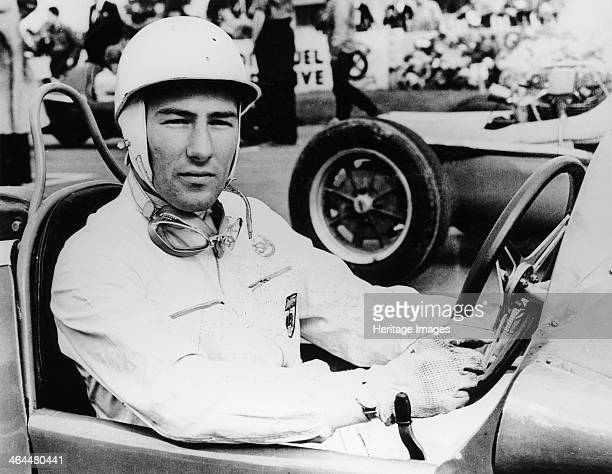 Stirling Moss at Goodwood 1954 At the wheel of a Maserati Moss came first in this race He began his career in 1947 driving a BMW 328 In 1955 he won...