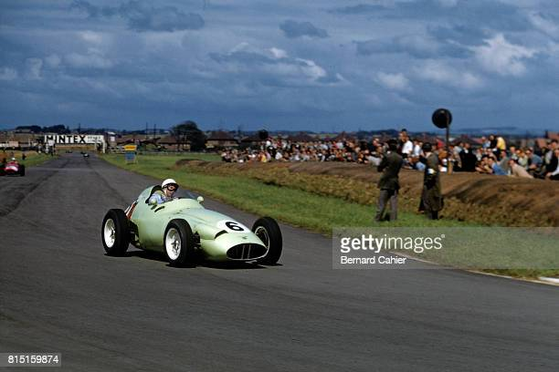 Stirling Moss BRM P25 Grand Prix of Great Britain Aintree England July 18 1959