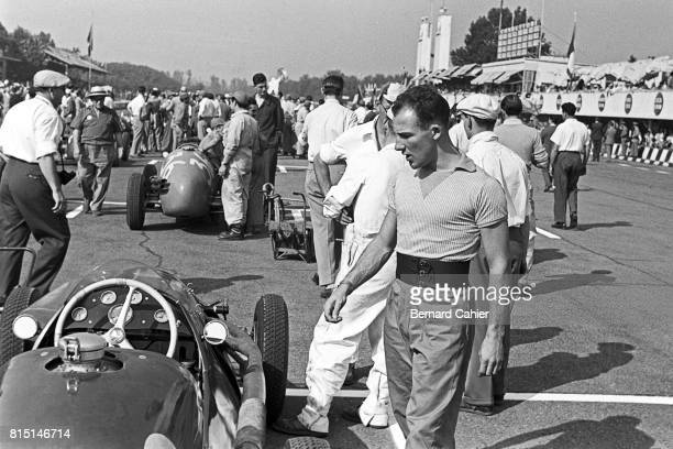 Stirling Moss CooperAlta Grand Prix of Italy Monza Italy September 13 1953