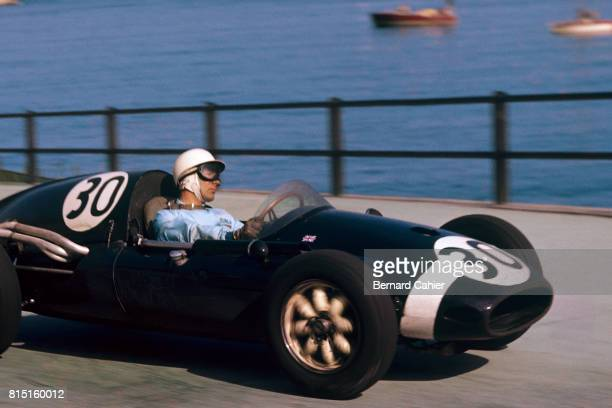 Stirling Moss CooperClimax T51 Grand Prix of Monaco Monaco May 10 1959