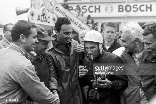 Stirling Moss, Dan Gurney, Nürburgring 1000 Kilometres, Nurburgring Nordschleife, 22 May 1960.