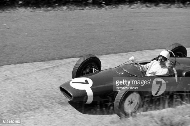 Stirling Moss LotusClimax 18 Grand Prix of Germany Nurburgring Germany August 6 1961