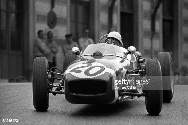 Stirling Moss LotusClimax 18 Grand Prix of Monaco Monaco May 14 1961