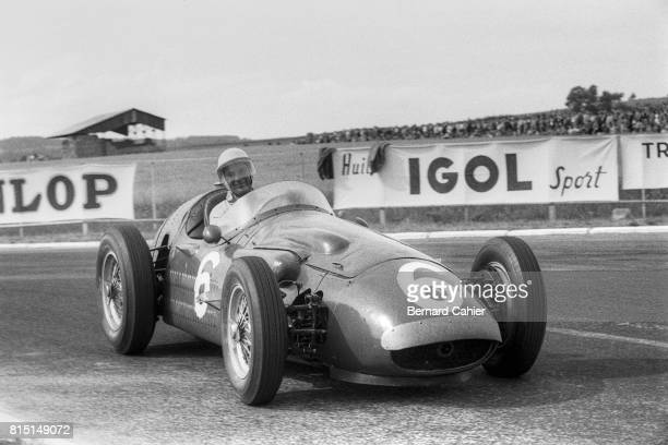 Stirling Moss Maserati 250F Grand Prix of France Reims France July 1 1956
