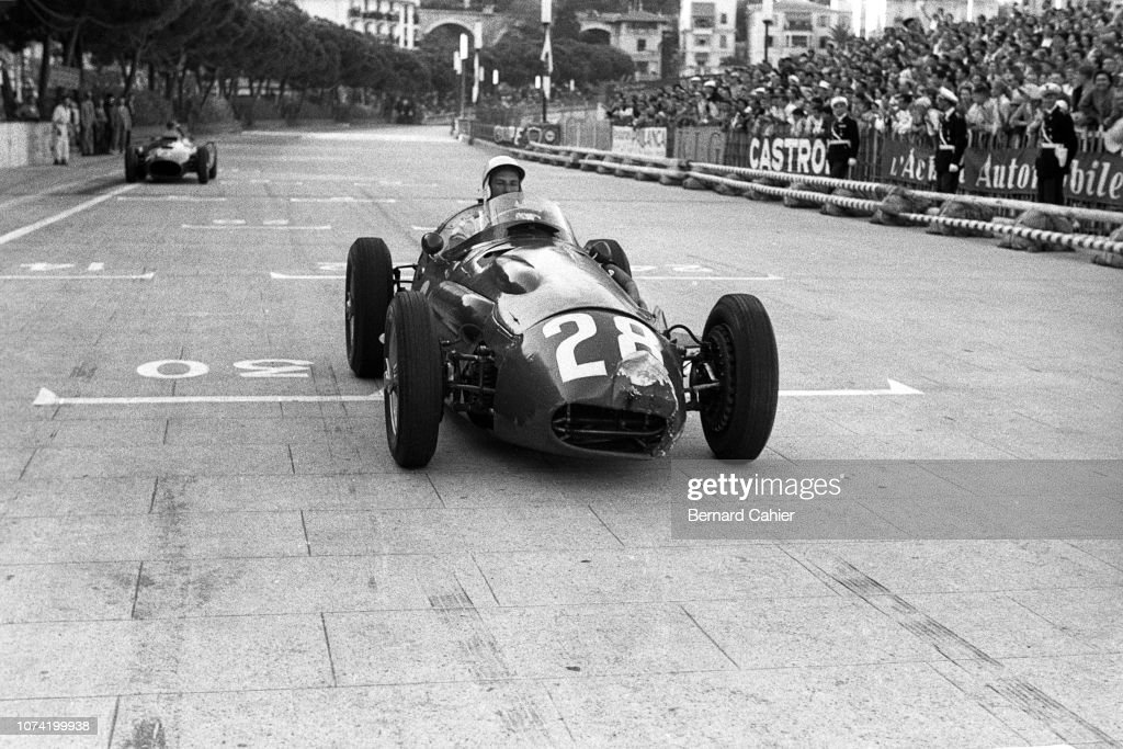 Stirling Moss, Grand Prix Of Monaco : News Photo