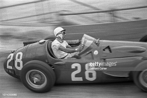 Stirling Moss Maserati 250F Grand Prix of Monaco Circuit de Monaco 13 May 1956 Stirling Moss on the way to a dominant victory in the 1956 Monaco...
