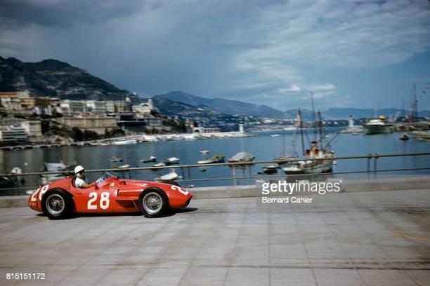 Stirling Moss Maserati 250F Grand Prix of Monaco Monaco May 13 1956