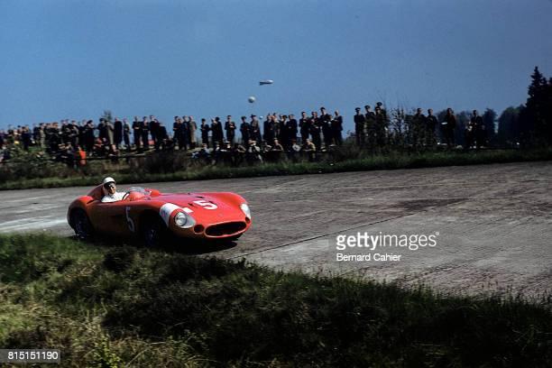 Stirling Moss Maserati 300S 1000 Km of Nurburgring Nurburgring Germany May 27 1956
