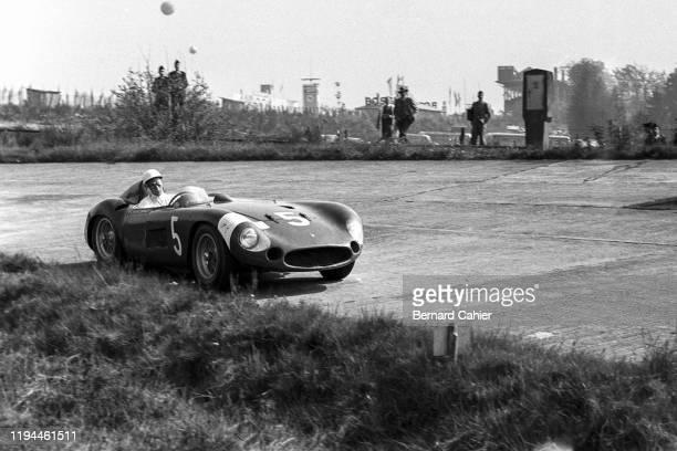 Stirling Moss, Maserati 300S, Nürburgring 1000 Kilometres, Nurburgring Nordschleife, 27 May 1956.