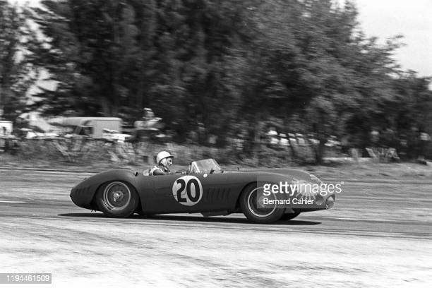 Stirling Moss Maserati 300S Sebring 12 Hours Sebring 23 March 1957