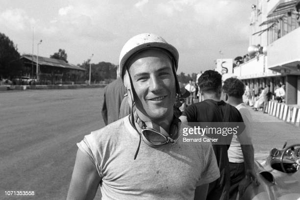 Stirling Moss Mercedes W196 Grand Prix of Italy Autodromo Nazionale Monza 11 September 1955