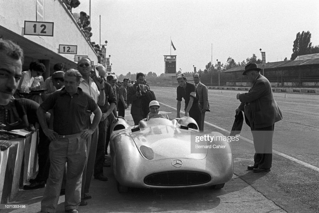 Stirling Moss, Grand Prix Of Italy : News Photo