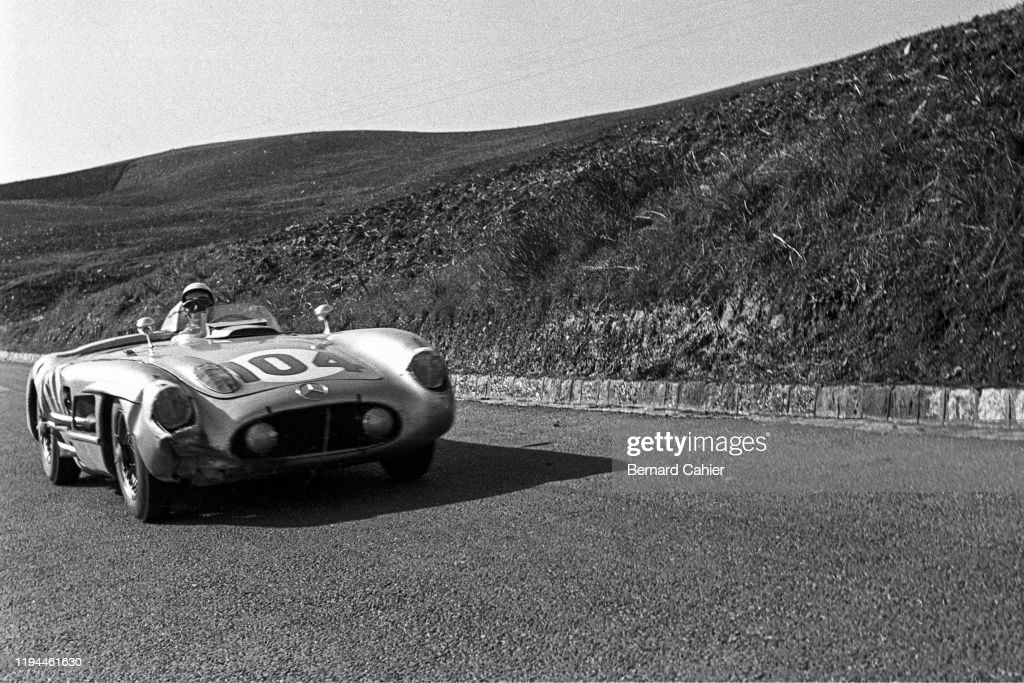 Stirling Moss, Targa Florio : News Photo