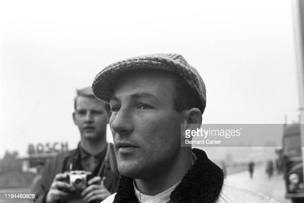 Stirling Moss, Nürburgring 1000 Kilometres, Nurburgring Nordschleife, 28 May 1961.