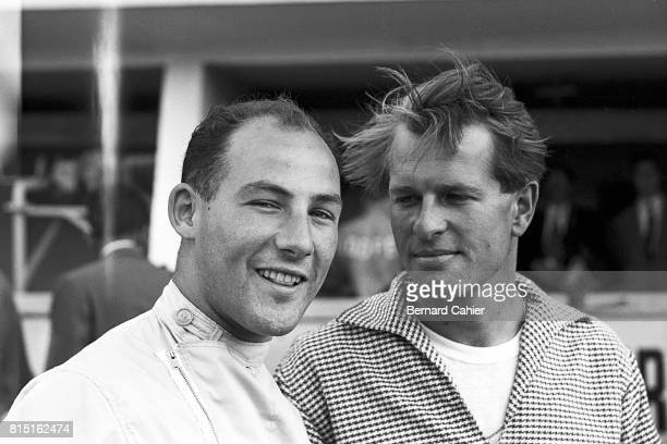 Stirling Moss Peter Collins 24 Hours of Le Mans Le Mans France July 29 1956