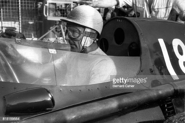 Stirling Moss Vanwall VW 5 Grand Prix of Italy Monza Italy September 8 1957