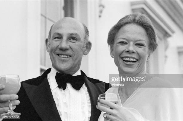 Stirling Moss weds Susie Paine 17th April 1980