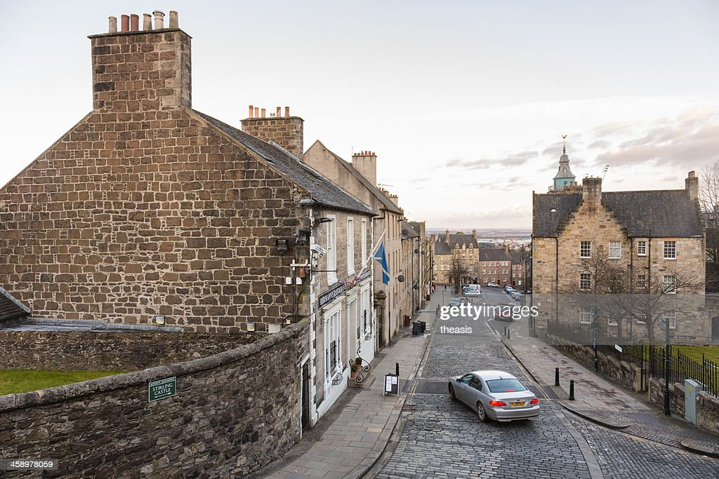 Stirling Old Town : Stock Photo