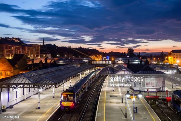 Stirling Railway Station, Stirling, Scotland