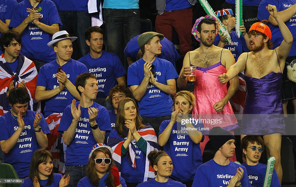 Great Britain v Slovak Republic - Davis Cup Day Two : News Photo