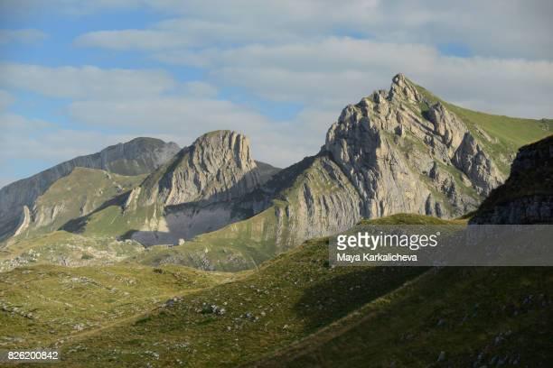 Stit peak in Durmitor mountain, Montenegro