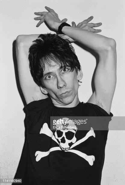 Stiv Bators Lords of The New Church studio shoot west London 1982