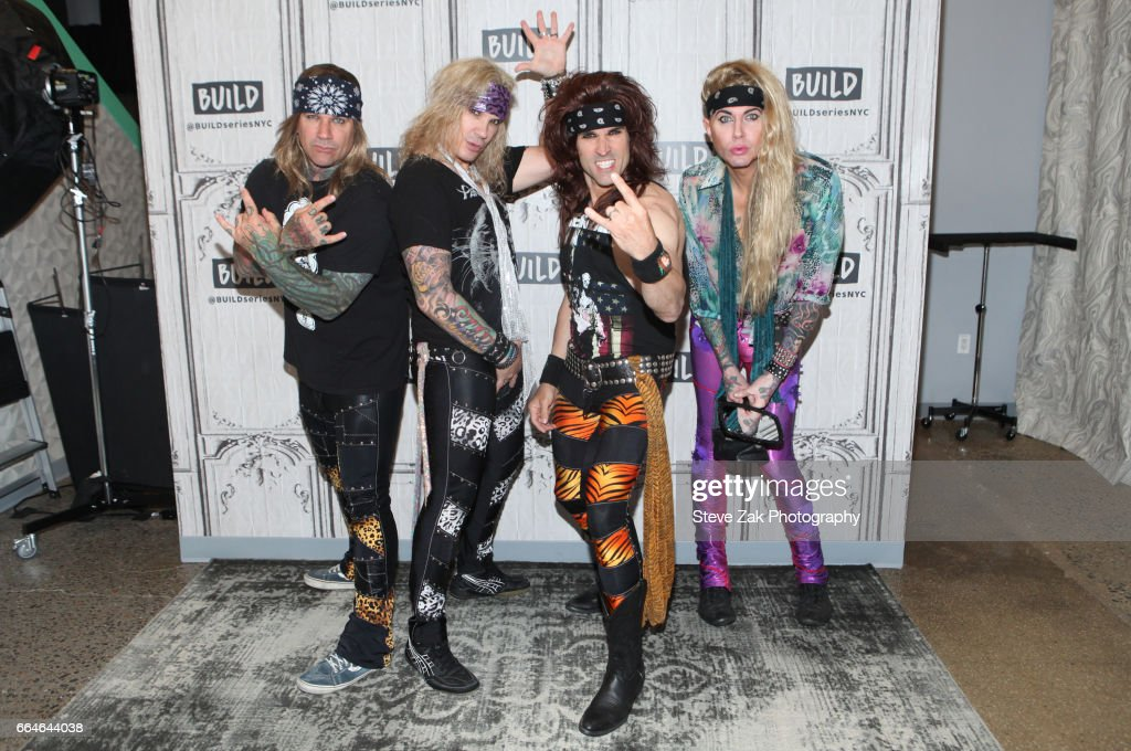 "Build Series Presents Steel Panther Discussing ""Lower The Bar"""