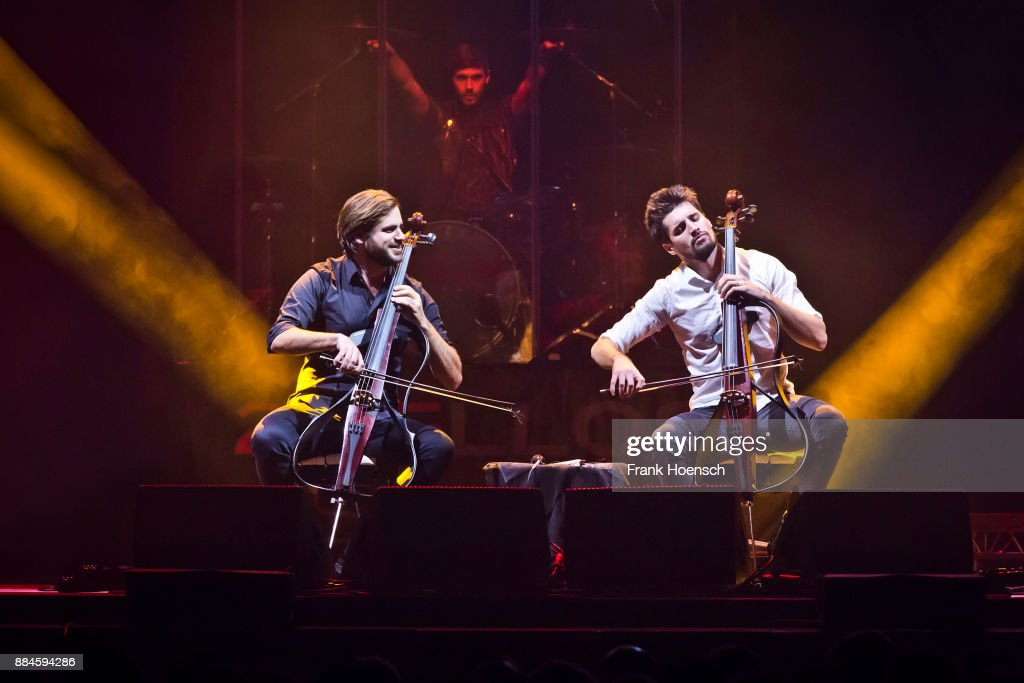 Stjepan Hauser and Luka Sulic of the Croatian-Slovenian