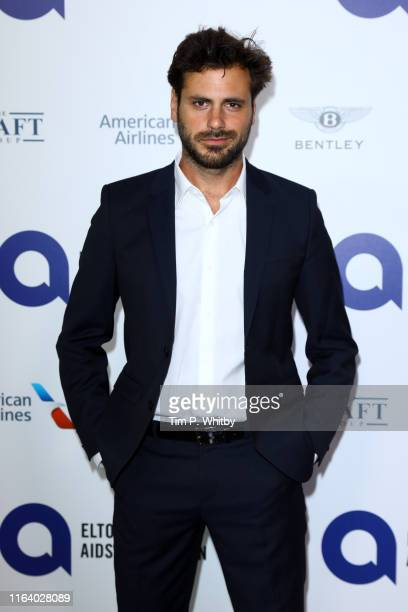 "Stjepan Hauser attends the first ""Midsummer Party"" hosted by Elton John and David Furnish to raise funds for the Elton John Aids Foundation at the..."