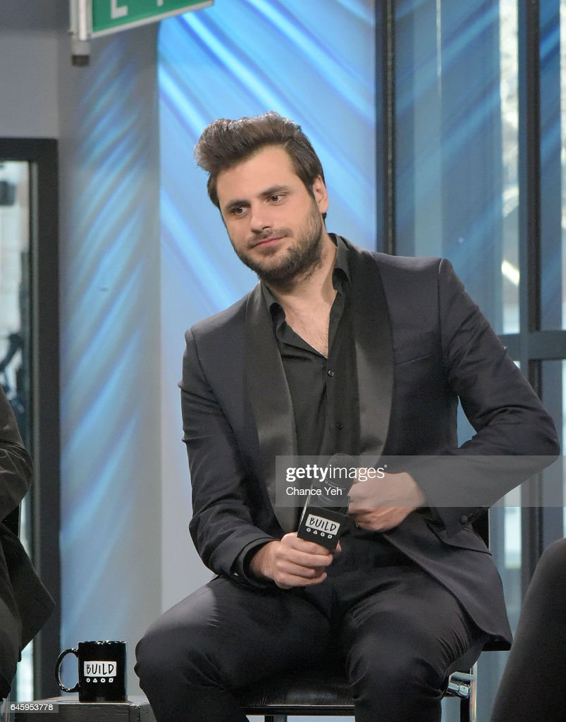 Stjepan Hauser of 2Cellos attend Build series to discuss