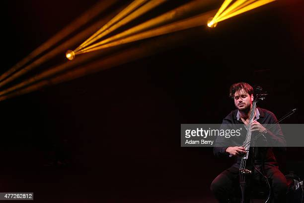 Stjepan Hauser of 2Cellos performs at FriedrichstadtPalast on June 15 2015 in Berlin Germany