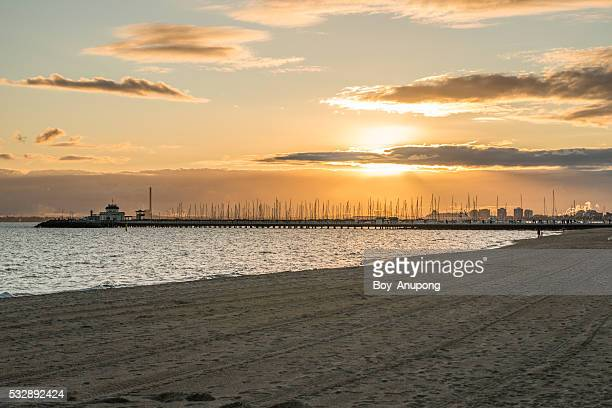 St.Kilda beach, Melbourne.