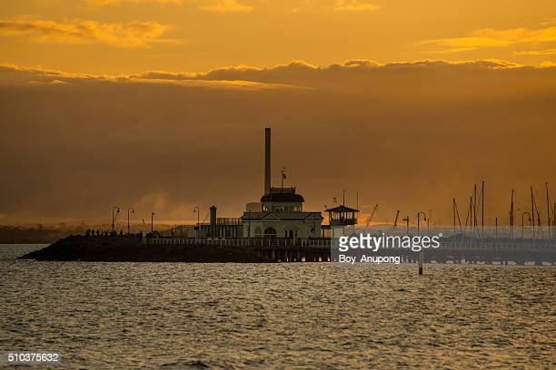 St.Kilda pier, Melbourne, Australia.