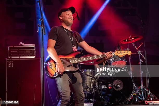 Ståle Naas from Come Taste The Band performs on stage at The Notodden Blues Festival on August 2 2019 in Notodden Norway