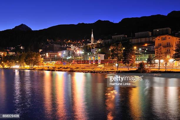 St.Moritz at night