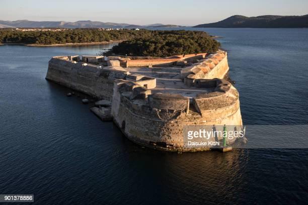 St.Nicolas Fortress in Sibenik, Croatia