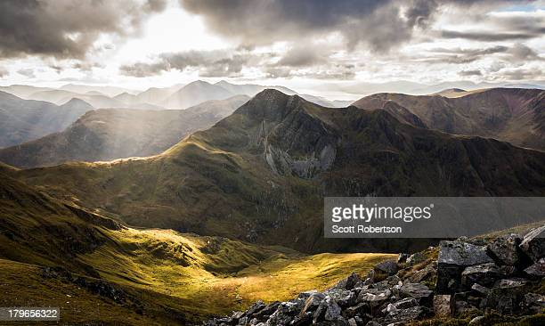 stob ban in colour - grampian scotland stock pictures, royalty-free photos & images
