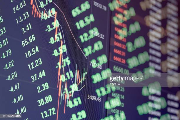 stock / bitcoin falling concept - crash stock pictures, royalty-free photos & images