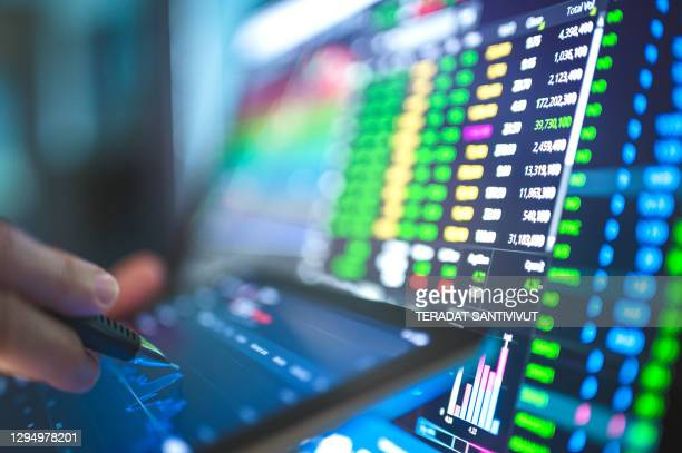 stock business financial economic background turnaround from bottom recession industrial sector from coronavirus ,covid-19, global stock investment - stock price stock pictures, royalty-free photos & images