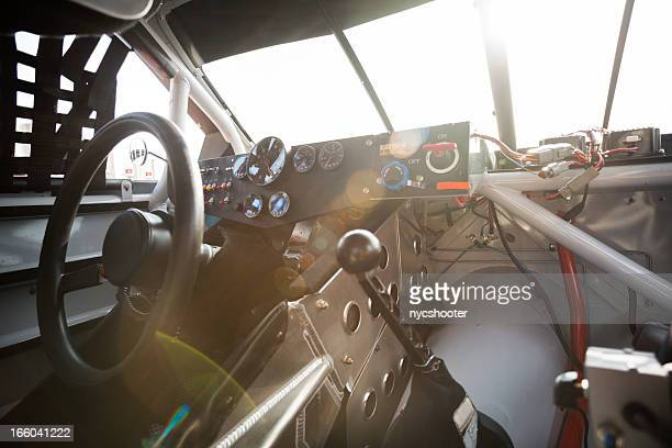 Stock car interior