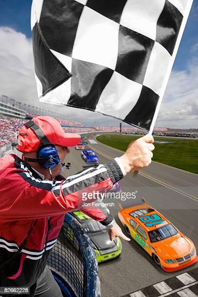 Stock car race