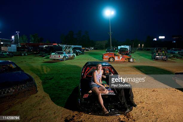 Stock Car Races, Gulfport, Mississippi