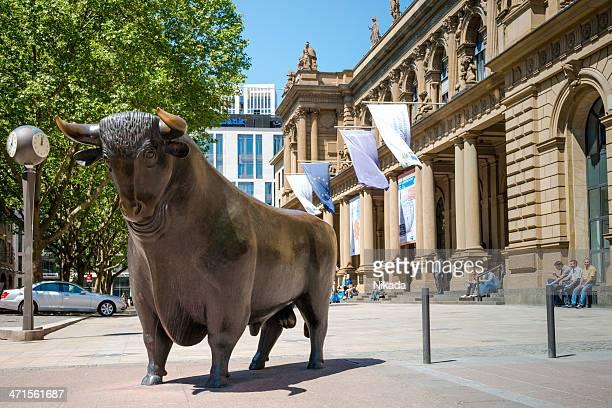 börse in frankfurt, deutschland - dax stock-fotos und bilder