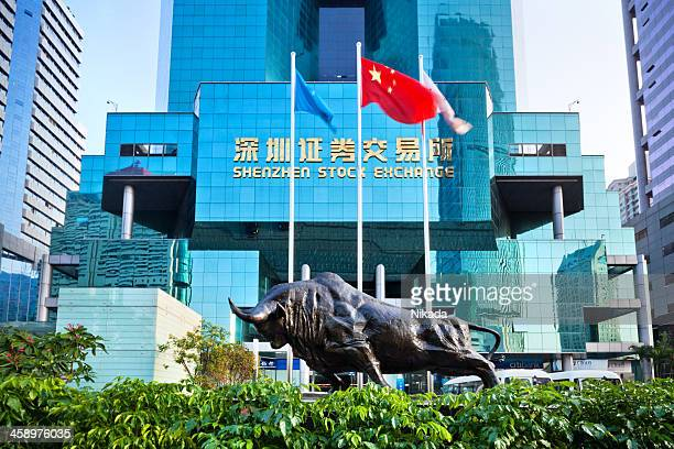 Stock Exchange in Shenzhen, China