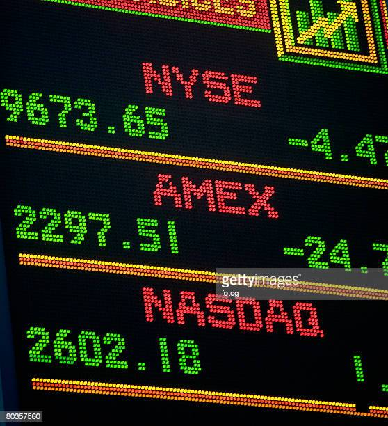 stock exchange report - new york stock exchange stock pictures, royalty-free photos & images