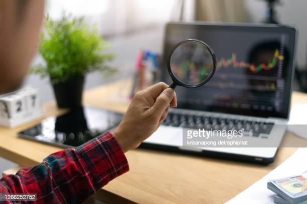 stock market analysis concept,stock market,business - kurstafel stock-fotos und bilder